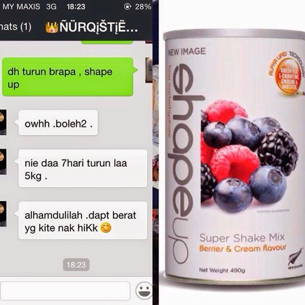 Diet Shape Up New Image Bulan Puasa