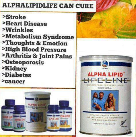 Apa Kandungan Dan Kebaikan Alpha Lipid Lifeline?