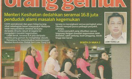 Lebih Ramai Rakyat Malaysia Makin Gemuk