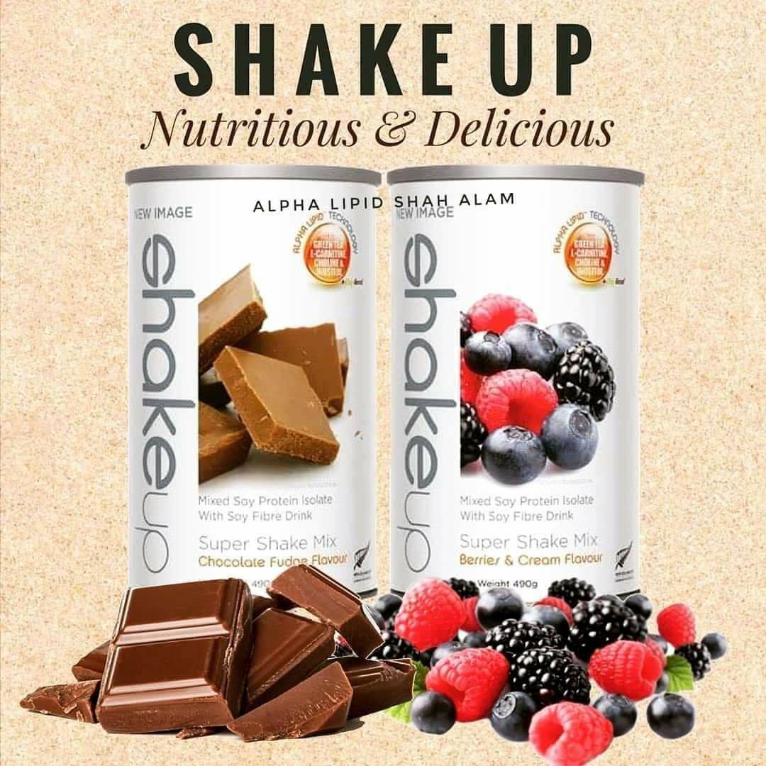 Alpha lipid shakeup produk kurus 4 agen bakar lemak